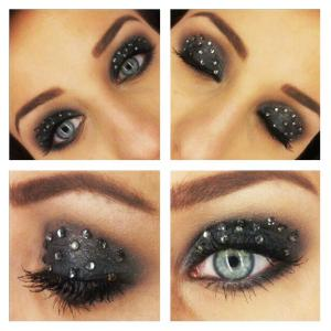 makeup store stud eye - rebecka andersson