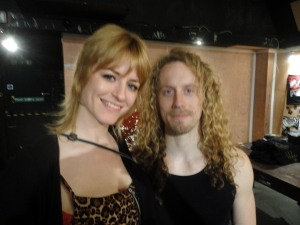 me with lead singer Will Stapleton