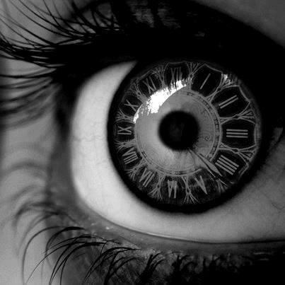 keeping an eye on the time, arf arf arf