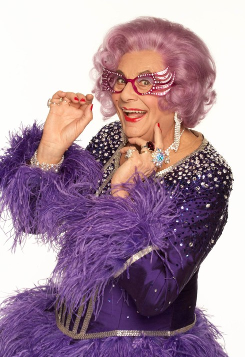 Dame Edna Everage: Australian superhero