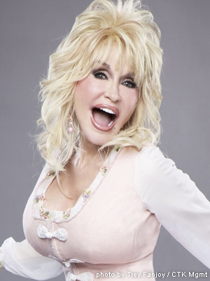 My bosom buddy, my wig hero, Dolly Parton I LOVE YOU