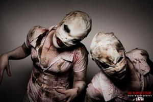 my Silent Hill nurses! photo credit: Warrior - Fight Photography